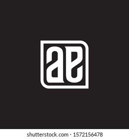 ae logo, letter ae, initial logo