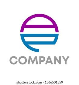 ae logo vector design template sign