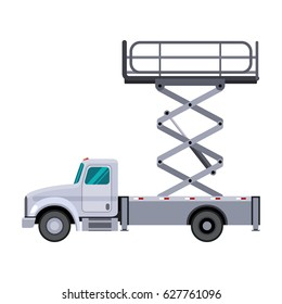 Utility Truck Images Stock Photos Amp Vectors Shutterstock