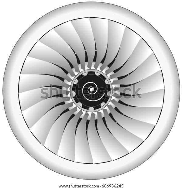Aerospace jet engine front
