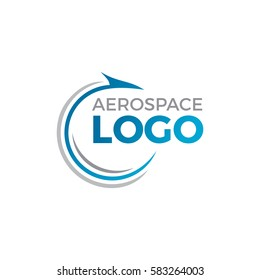 Aerospace Logo Icon illustration
