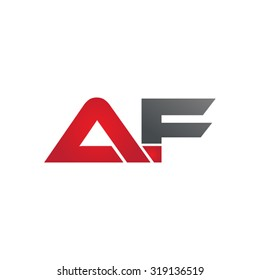 AF company group linked letter logo