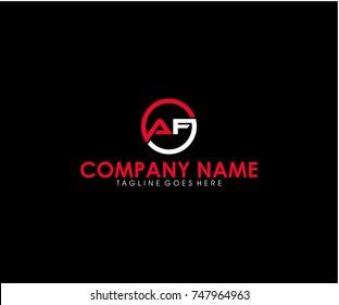 AF logo design