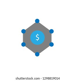 Affiliate and crowdfunding icon. Element of user interface icon for mobile concept and web apps. Detailed Affiliate and crowdfunding icon can be used for web and mobile