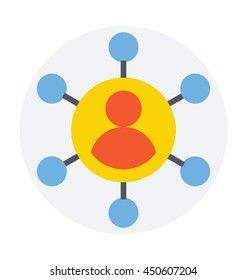 Affiliate Marketing Vector Icon