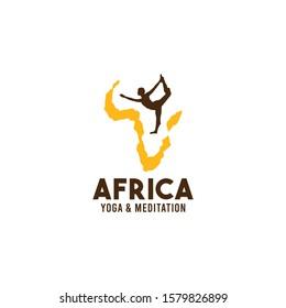 Africa Logo Design Vector Template