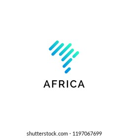 Africa logo template suitable for your company.