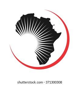 africa logo vector.