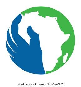 africa logo images stock photos vectors shutterstock rh shutterstock com africa logistics network african logos