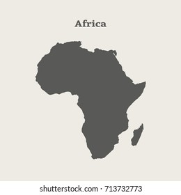 African Map Images, Stock Photos & Vectors | Shutterstock