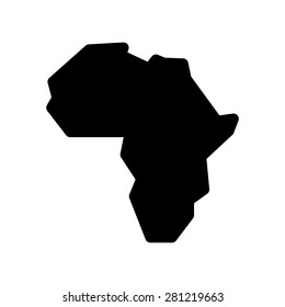 Africa Map Logo Images, Stock Photos & Vectors | Shutterstock