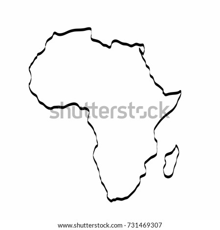image about Printable Maps of Africa known as Map Africa Determine Jackenjuul