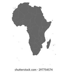 Africa, political map