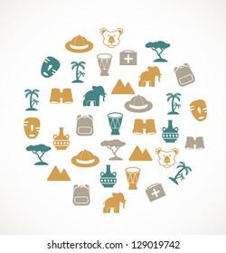 Africa symbols