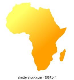 africa - vector -