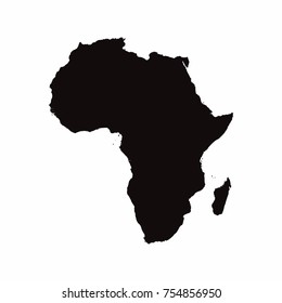 Africa vector country map