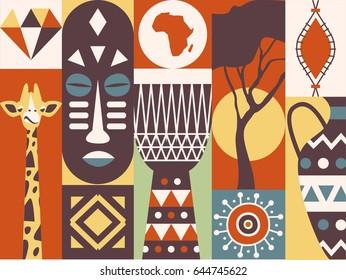 African Shield Images, Stock Photos & Vectors   Shutterstock