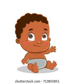 African american baby