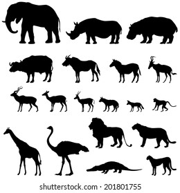 photo regarding Free Printable Forest Animal Silhouettes referred to as Animal Silhouette Pictures, Inventory Images Vectors Shutterstock