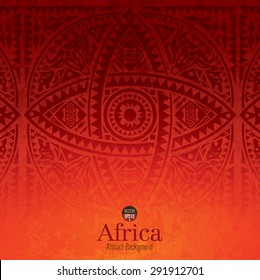 African art background design. Can be used in cover design, book design, website background, CD cover or advertising.