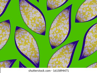 african fashion seamless pattern ornament in vibrant colours. picture art and abstract background for Fabric Print, Scarf, Shawl, Carpet, Kerchief, Handkerchief, vector illustration file EPS10.