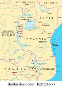 Zambia Map Stock Vectors Images Vector Art Shutterstock