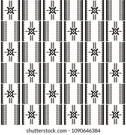 African kente print, traditional fabric  from Ghana, Ankara cloth. Seamless pattern.