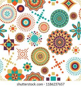 African multi pattern design
