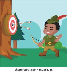 african robin hood target