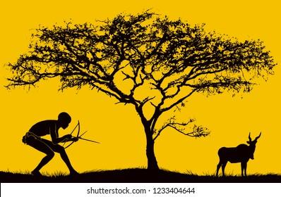 African San Bushman
