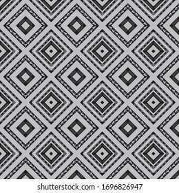 African style inspired geometric pattern