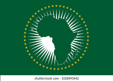 An African Union flag design
