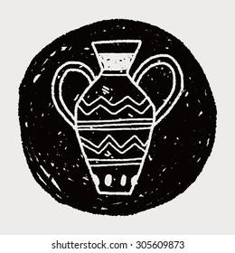 African Vase doodle