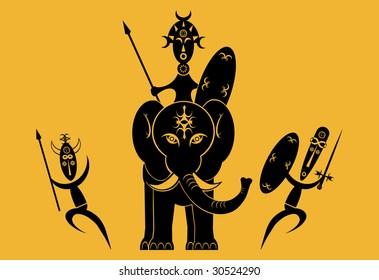 African Warriors Attack