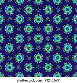 African zigzag pattern