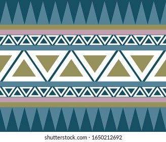 Afrikan style pattern motif. Can be used as wall decoration, banner, motif, gift card, icon.