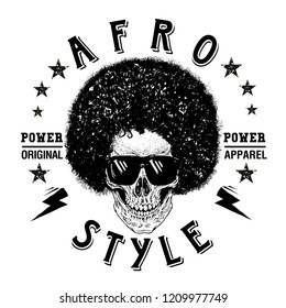 Afro Style Fashion Power