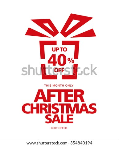 after christmas sale image of gift - Best After Christmas Sale
