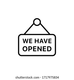 After quarantine market symbol we are open tag label we have opened isolated vector file