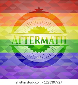 Aftermath lgbt colors emblem
