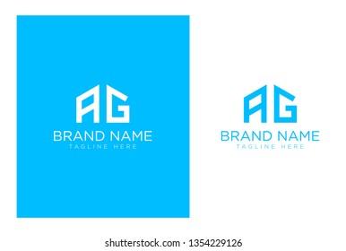 AG Letter Logo Design - Creative Typography logo
