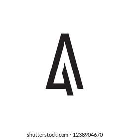 AG logo letter/ AA logo letter design