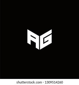 AG Logo Letter ininial Designs Templete