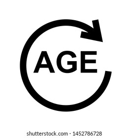 age limit icon vector design template