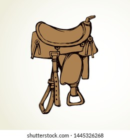 Western Saddles Images, Stock Photos & Vectors | Shutterstock
