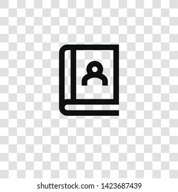 agenda icon from miscellaneous collection for mobile concept and web apps icon. Transparent outline, thin line agenda icon for website design and mobile, app development