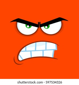 angry face images stock photos vectors shutterstock rh shutterstock com angry cartoon face gif angry cartoon face meme