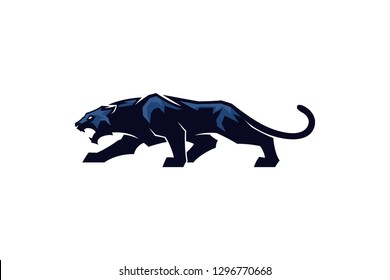 Aggressive Panther Vector Design