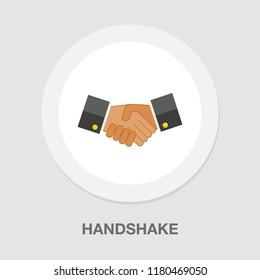 agreement, handshake icon - business partnership - friendship symbol