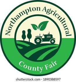 Agricultural Icon  Logo Design Template